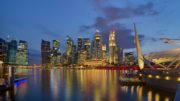 singapore_cbd_skyline_from_esplanade_at_dusk